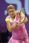 图文:网球WTA年度总决赛 小威2-0完胜萨芬娜