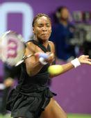 图文:网球WTA年度总决赛 大威2-1胜杰缅季耶娃