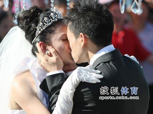 杨威杨云浪漫大婚