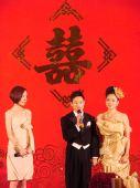 图:杨威杨云浪漫大婚 牵手到永远