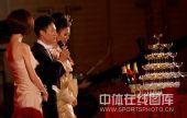 图:杨威杨云婚礼午宴- 威发表爱的宣言