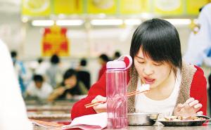 厦大将提取学生的食堂消费数据。常海军 摄