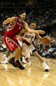 图文:[NBA]火箭VS开拓者 斯科拉防守罗伊