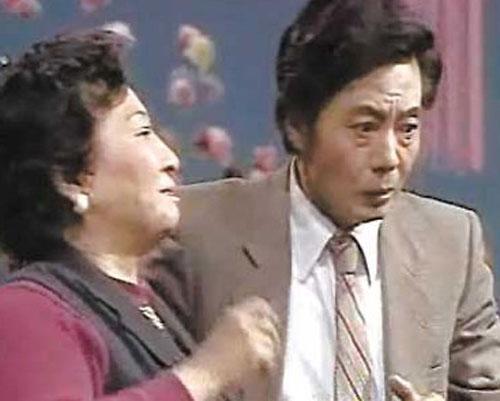 周国治和李婉芬1986年春节晚会共同出演了小品《送礼》
