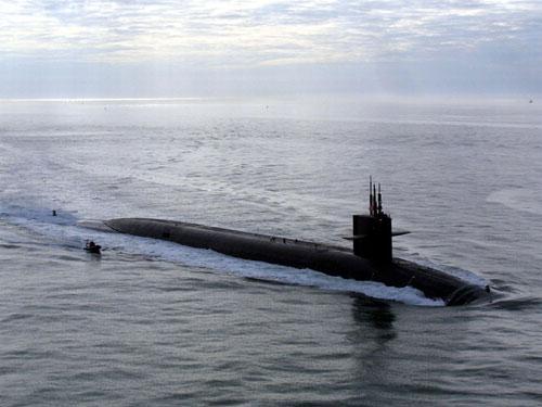 """美国海军""""俄亥俄""""级战略核潜艇"""