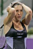 图文:WTA总决赛扬科不敌兹娃 扬科遗憾落败