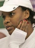 图文:小威退出WTA总决赛 小威遗憾异常