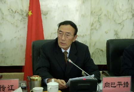 西藏自治区主席向巴平措 (摄影:中国日报网张楠)
