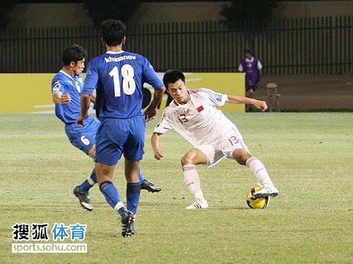 图文:[亚青赛]中国3-4乌兹别克 展示技术