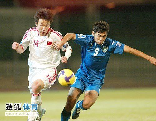 图文:[亚青赛]中国3-4乌兹别克 略胜一筹
