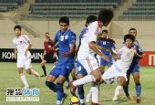 图文:[亚青赛]中国3-4乌兹别克 错过来球