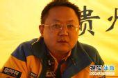 图文:全国汽车拉力赛龙游站 牛民接受采访