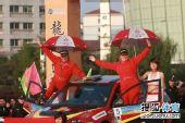 图文:全国汽车拉力赛龙游站 老格林与领航员