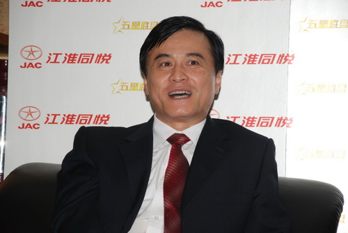 在安进看来,同悦是江淮品牌的又一次助推。