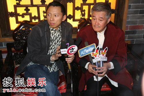 张朝阳先生与赵本山接受媒体群访