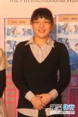 图文:正官庄杯开幕式 韩国棋手李夏辰三段