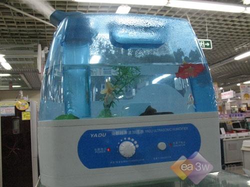 超大水箱能养鱼 亚都加湿器低价促销