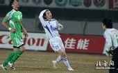 图文:[中超]北京2-2天津 错失机会
