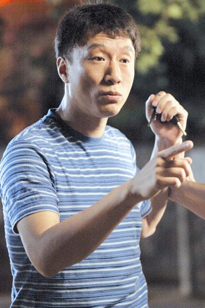 孙红雷在《硬汉》中扮演一位暴发户