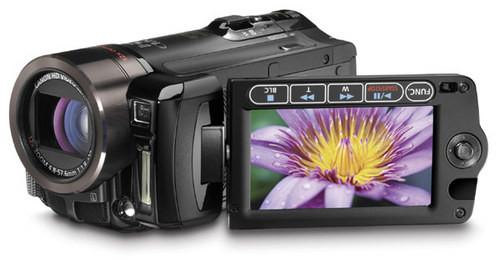 内置32GB闪存卡 佳能摄像机HF11促销送包