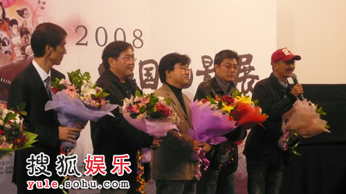 韩国展映片导演出席开幕式