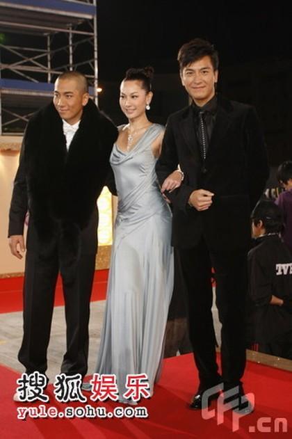 图:TVB台庆红毯 吴卓羲、徐子珊、马国明