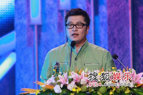 08东南音乐劲爆榜现场图片 小柯发表获奖感言