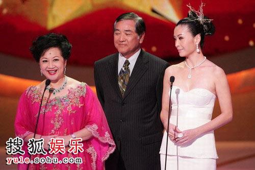 tvb颁奖礼2011_图:tvb台庆颁奖礼 薛家燕