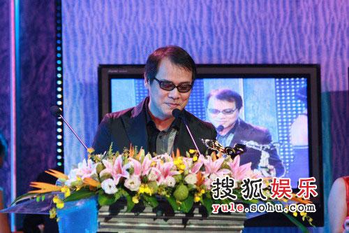 08东南音乐劲爆榜现场图片 罗大佑发表感言