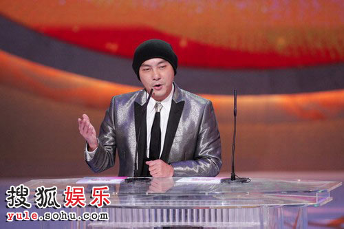 tvb颁奖礼2011_图:tvb台庆颁奖礼 张卫健讲话