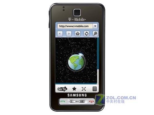 500万像素3.1寸触控GPS机 三星T919发布