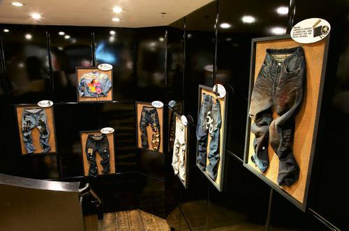 Levis华南区首家三层复式形象店进驻广州
