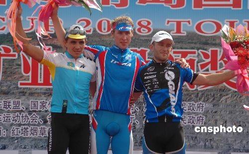 环海南岛自行车赛第六赛段:俄罗斯车手夺冠