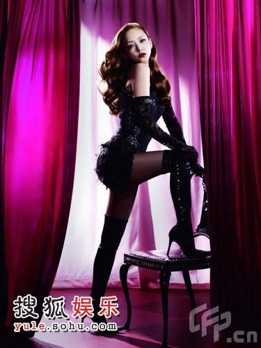 安室奈美惠做代言拍写真 亚洲歌姬性感演绎(图)
