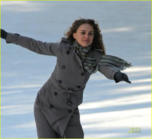 娜塔莉溜冰技术过人