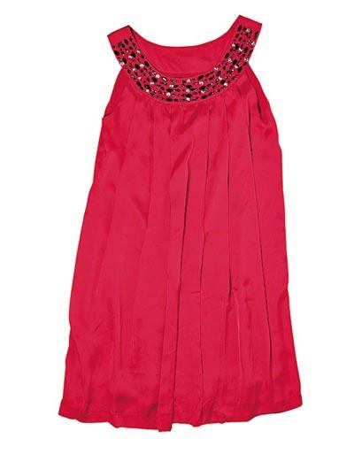iijin红色宝石satin 晚装裙原价$1,590 七折$1,113