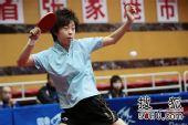 图文:乒球全锦赛女团次日 张怡宁退到远台