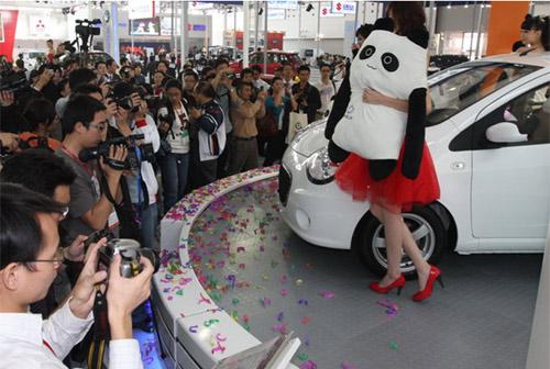 熊猫的正式上市,标志着吉利汽车麾下的全新品牌全球鹰首度与高清图片