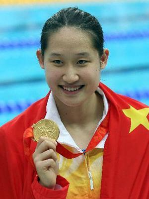 图文:年度最佳新人候选人 蝶泳奥运冠军刘子歌