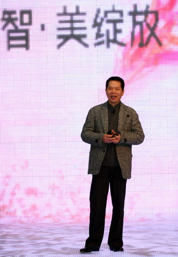 全新诺基亚E系列品鉴会-诺基亚全球副总裁邓元鋆