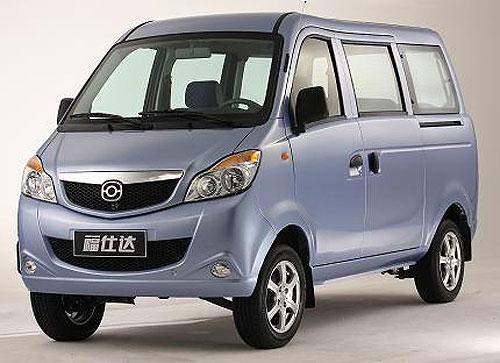 海马福仕达登陆广州车展 09年初正式上市高清图片
