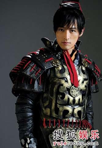 胡歌《仙剑3》中的戎装造型