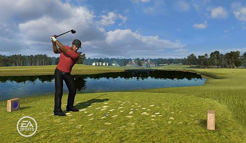 老虎伍兹PGA09赛季电子游戏