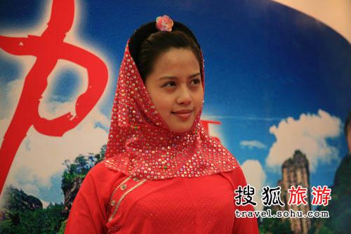 2008旅交会花絮 红头巾红棉袄的惠安女