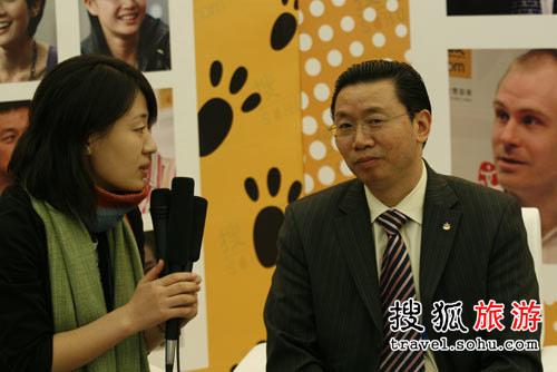 专访中国旅行社总社莫跃明
