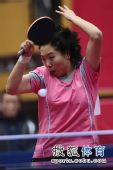 图文:北京女队3-0山东夺冠 李晓霞动感身姿