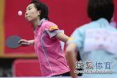 图文:北京女队3-0山东夺冠 李晓霞发球搞笑