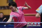 图文:北京女队3-0山东夺冠 李晓霞认真比赛
