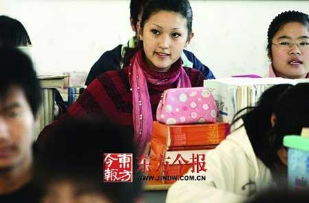 人物名片:陈臻儿,15岁,郑州市第二外国语学校高一女生。