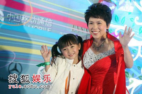 邓亚萍和林妙可小朋友